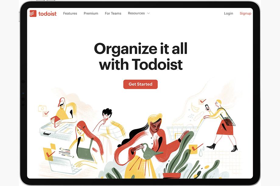 Todoist App for Mac